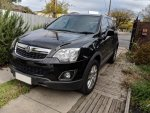 Holden Captiva MY12 5 4cyl 2.4l (FWD) CG II Manual